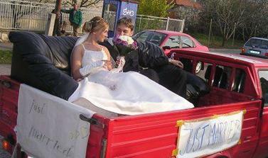 """Náš """"svadobný koč"""""""