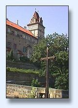 tady bude obřad - zámek Brandýs nad Labem