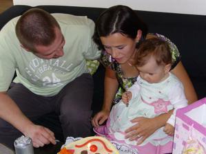 Naše štěstíčko oslavilo 17.listopadu 2010 už 1 rok.