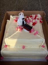 Náš hlavní dort - byl úžasný!