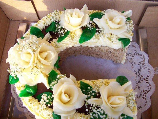 A druhý dort na tabuli