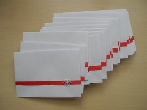 Obálky na pozvánky