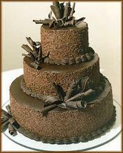 torta čokoládová zvonku aj zvnútra :)