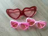 Srdiečkové okuliare na fotenie,