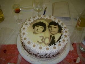 nevestini rodicia, prekvapenie k 30.vyrociu ich svadby:-)