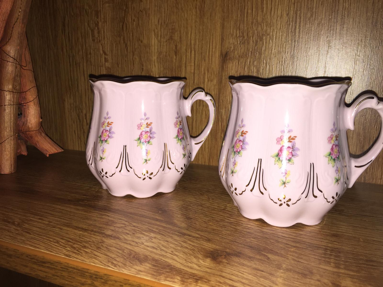 Hrnček ružový porcelan HaC - Obrázok č. 3