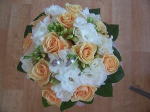 Svatbu bychom chtěli bílo-oranžovou.