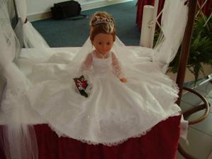 chcem si takúto bábiku pripraviť sama.Bábiku už mám len ešte ušiť šaty a korunku a ....Čaká ma dosť práce