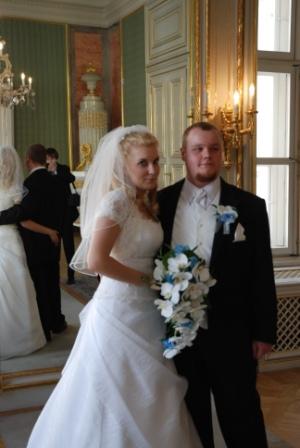 ♥ja+on=MY♥ - tak isto- svadobná kytička