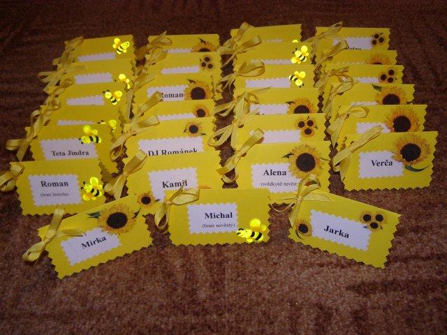 Naše prípravy, začíname - Ospravedlnujem sa za kopírovanie, ale v žltom som nič iné nenašla.