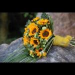 moje svatební kytička:))