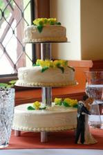 svatební dort se povedl