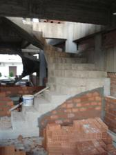 schody na druhe poschodie