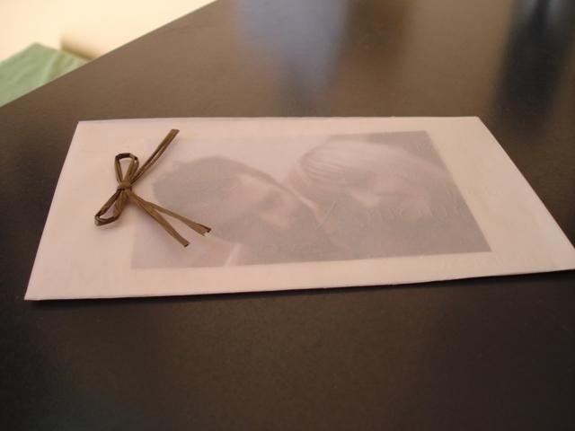 Monika & George - nase oznamenie