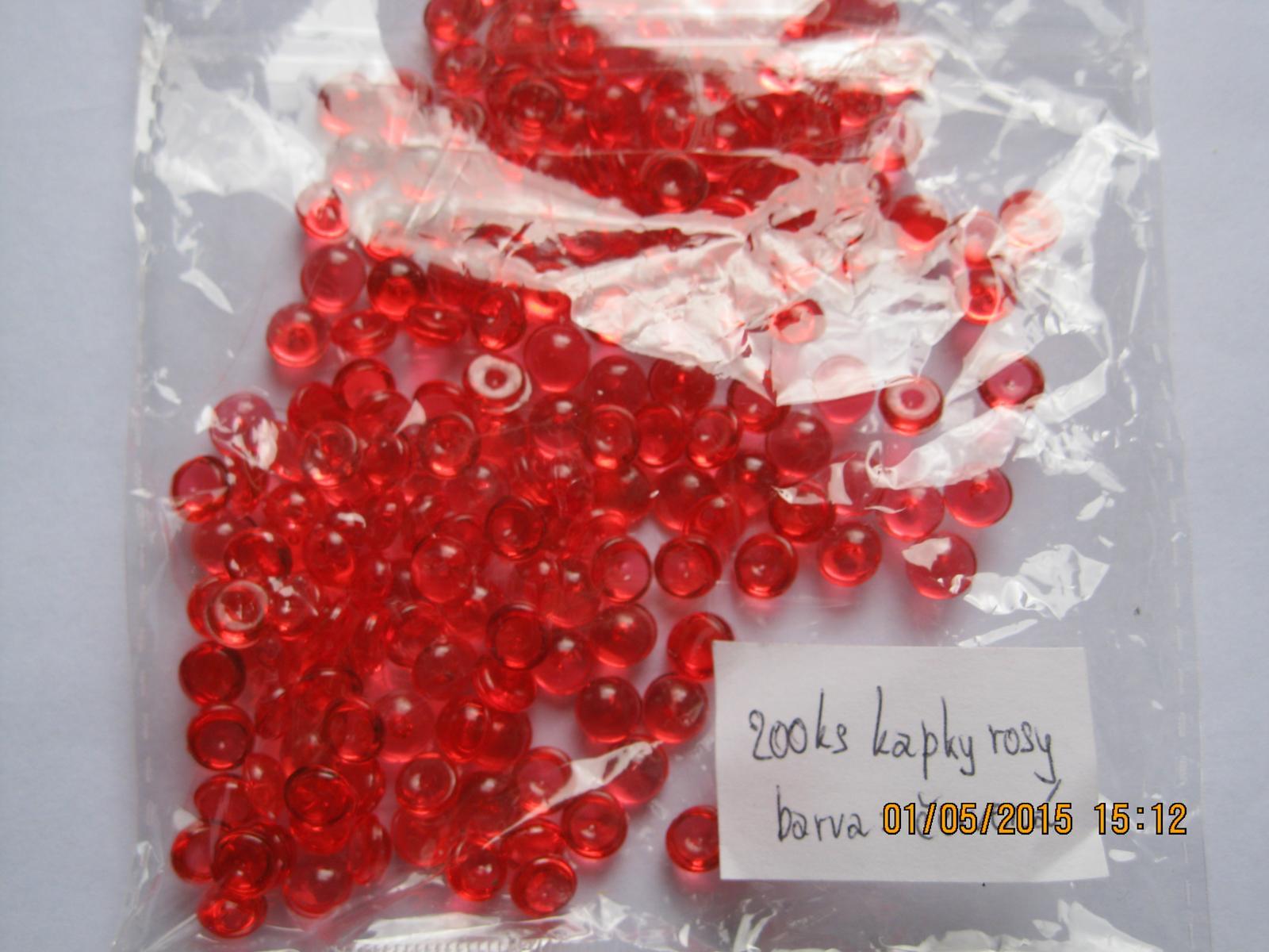 Kapky rosy červené - Obrázek č. 1
