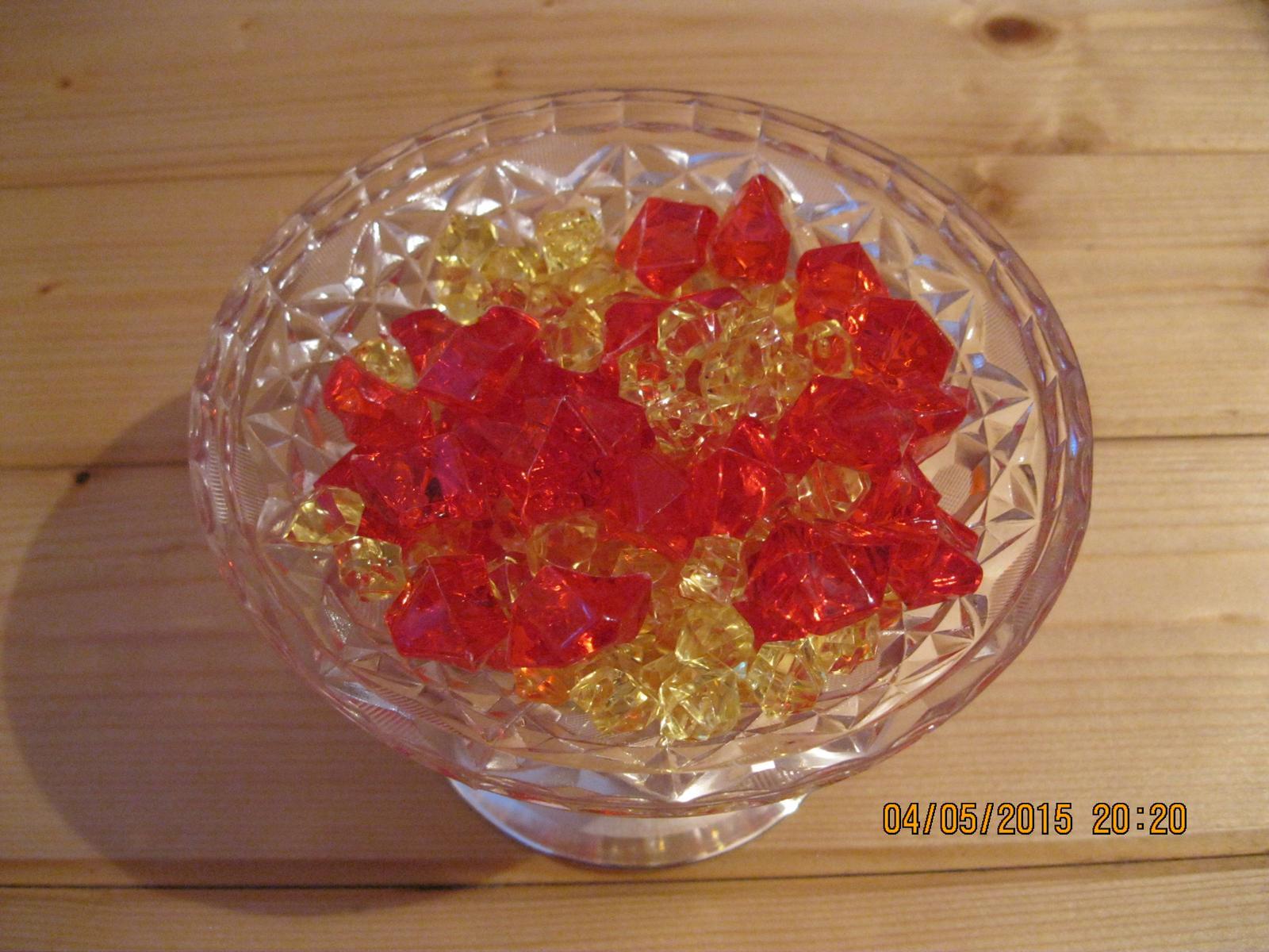 Kamínky červené, 2,5 cm - Obrázek č. 1