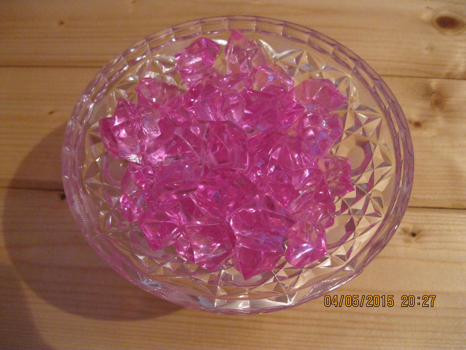 Kamínky růžové, 2,5 cm - Obrázek č. 1