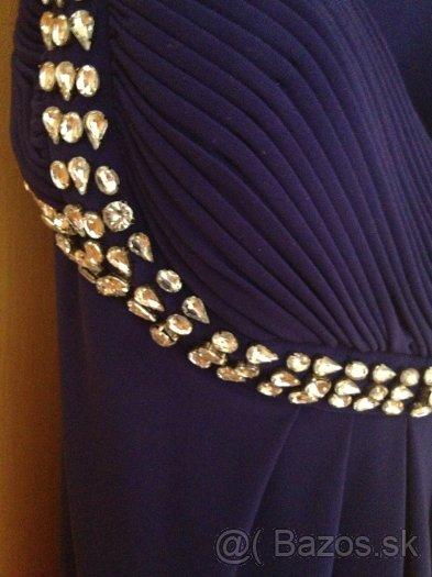 šaty so swarovskými kryštálmi  - Obrázok č. 2