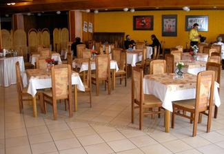 takto vypadá restaurace
