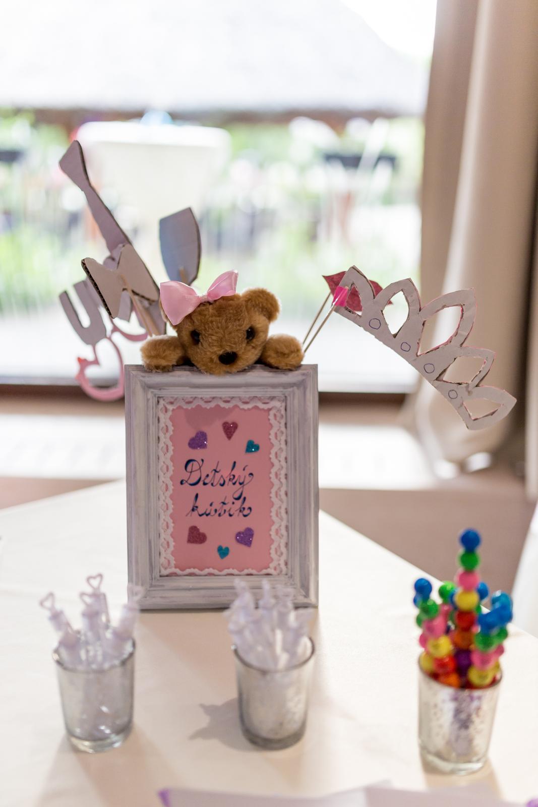 ♥ Vikulka{{_AND_}}Peťo ♥ - Kútik pre detičky s omaľovánkami a bublifukmi :)