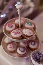 Moje krásne muffinky :)
