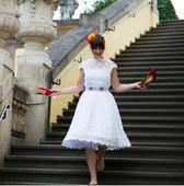 Svatební retro šaty MiaBella, 38