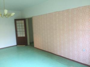 obývačka, dvere do šatníka
