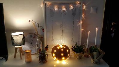 moja jediná jesenná výzdoba :-D , a moje DIY kvetináče lebo iné nemám :(