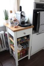 vysnívaný kávový vozík :)