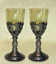 nádherné čaše, pôvodne sme nechceli poháre, ale keď som zbadala tieto, neodolám