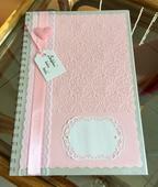 Svatební kniha hostů- romantic pink,