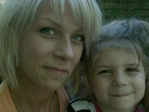 ja s mojou dcerkou Vanesskou