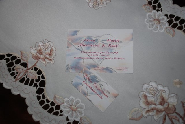 Detaily našej svadby - Obrázok č. 18