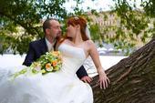 Svatební šaty na šněrování, 38