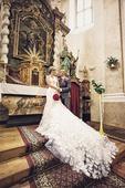 dlouhé svatební šaty, 36