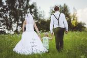 princeznovské svatební šaty velikosti 36, 36