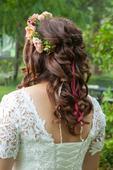Svadobné šaty s nádhernou čipkou, 42