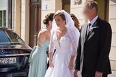 Luxusné svadobné šaty, 38