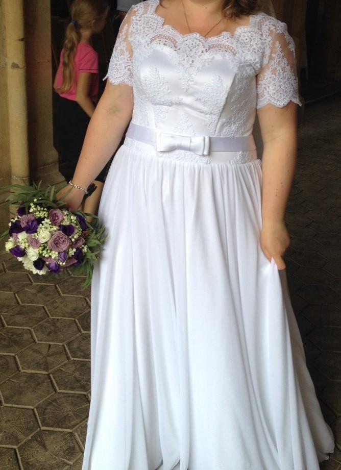 svatební šaty v ideálním stavu - Obrázek č. 1