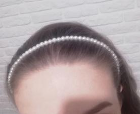 Perlová čelenka - Obrázok č. 3
