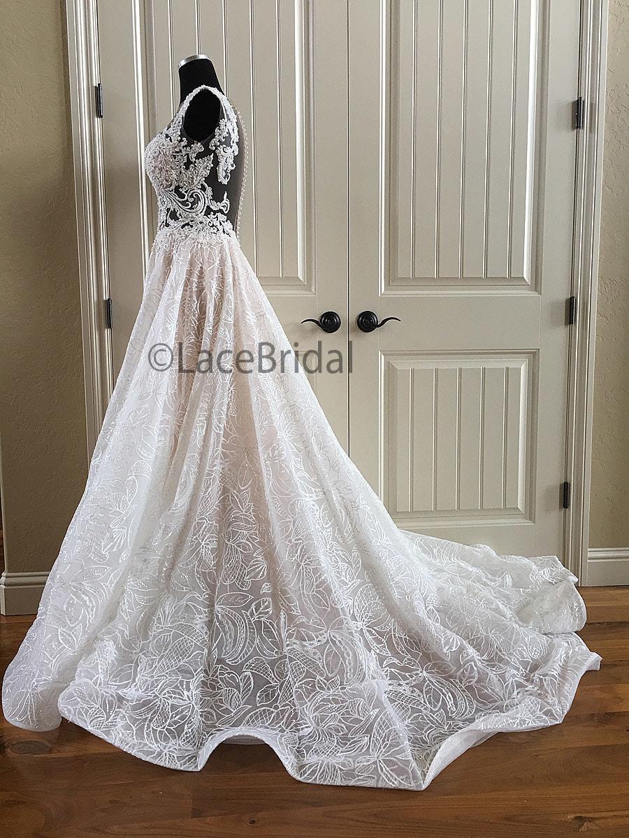 svadobné šaty zn. MN Kamelia - Obrázok č. 2