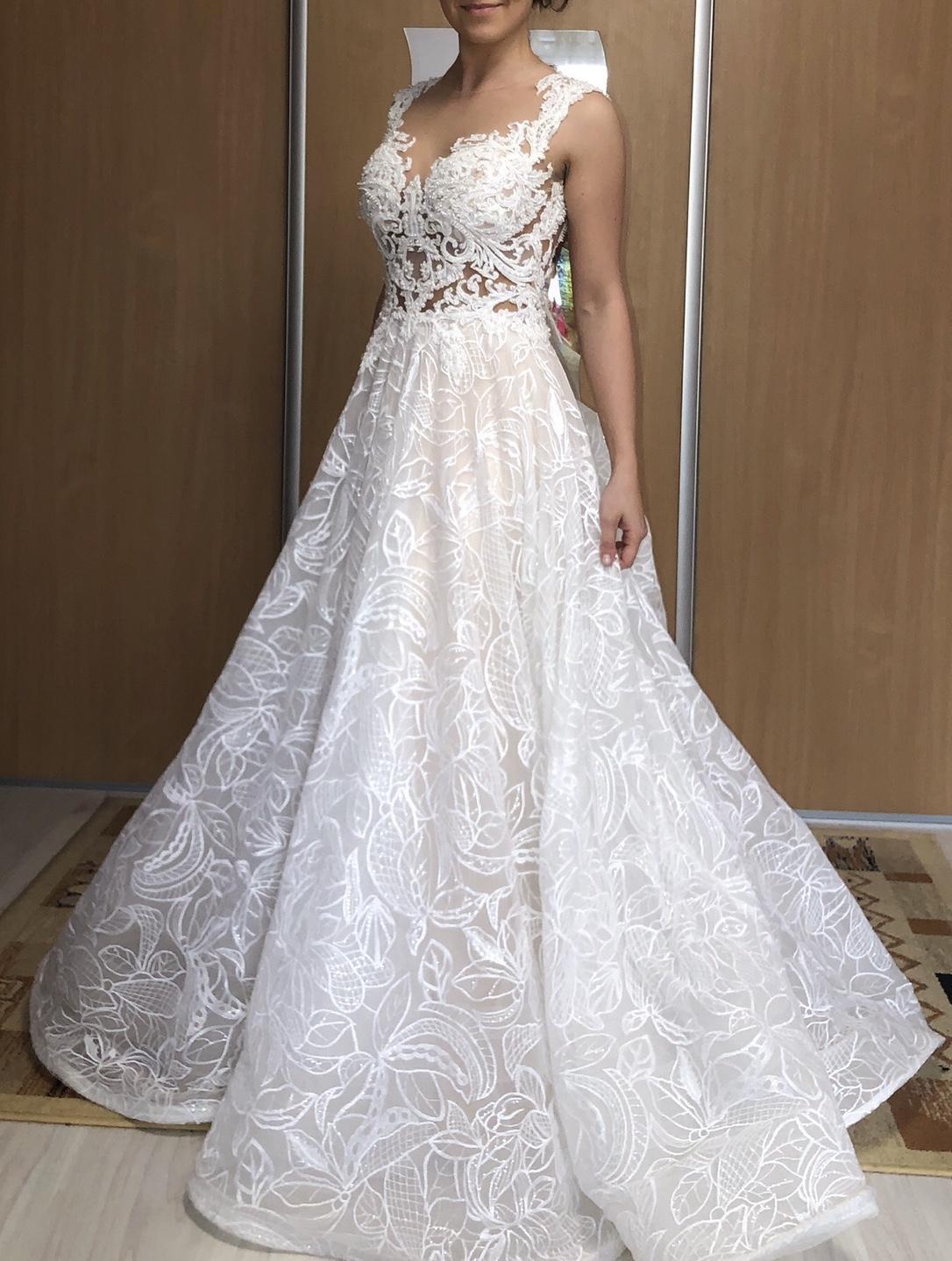 svadobné šaty zn. MN Kamelia - Obrázok č. 3