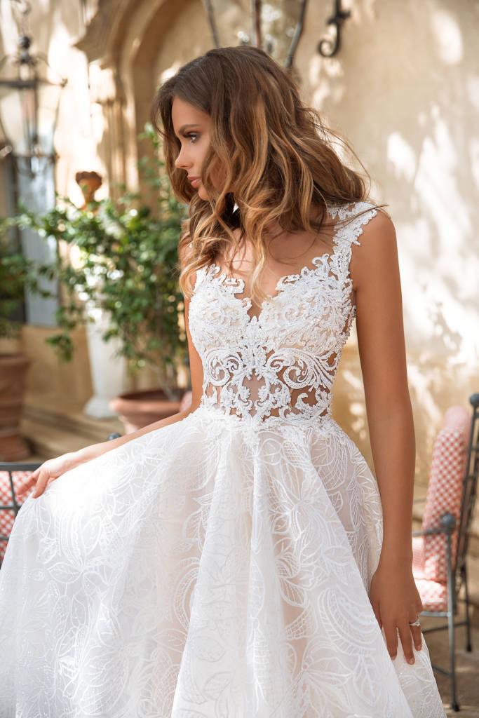 svadobné šaty zn. MN Kamelia - Obrázok č. 1