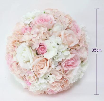 Kvetinová pologuľa - Obrázok č. 1