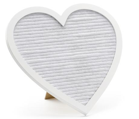 tabuľka na odkazy - srdce - Obrázok č. 2