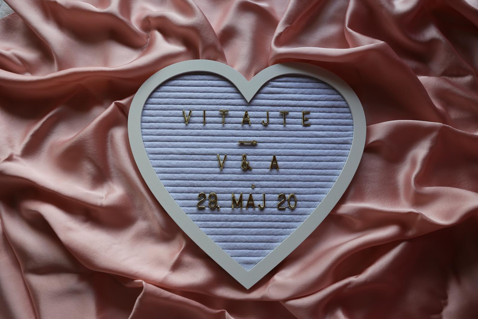 tabuľka na odkazy - srdce - Obrázok č. 1