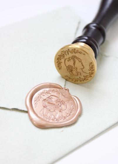 Pečatný vosk perleťová ružová - 300ks - Obrázok č. 1