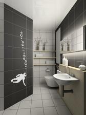 samolepka potápeč do koupelny :-)