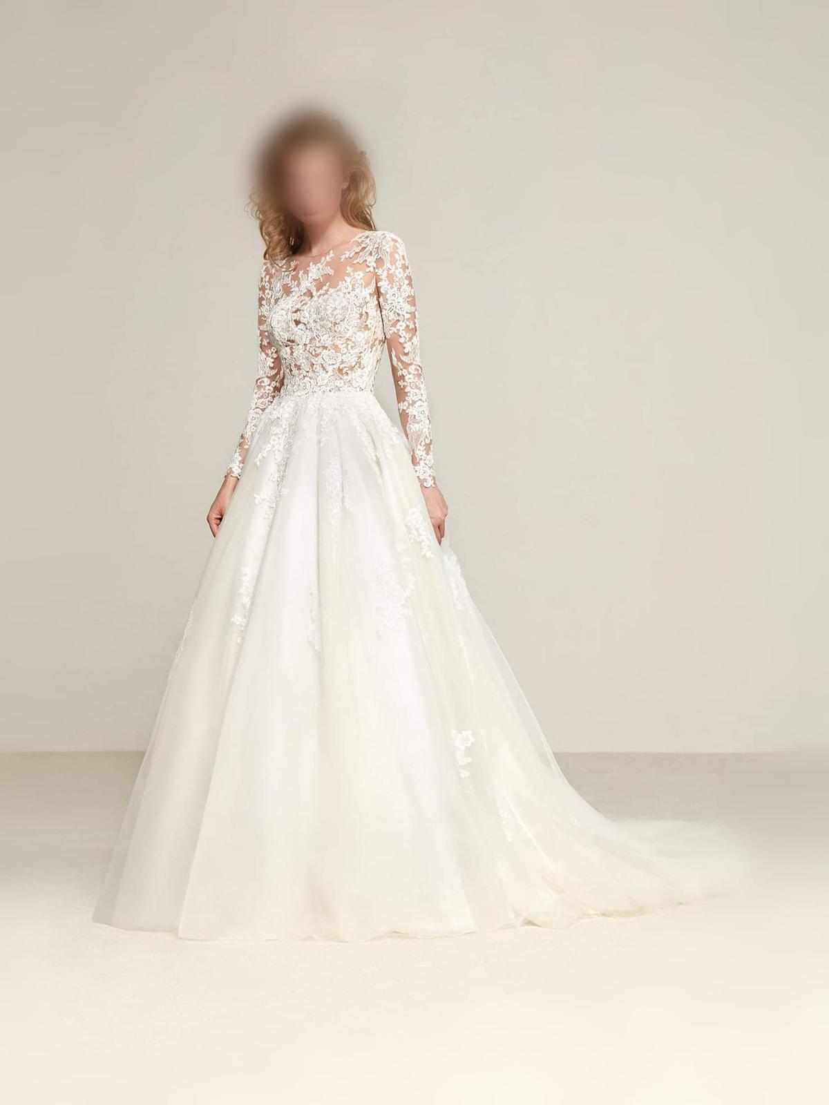 svadobné šaty značky Pronovias - Obrázok č. 1