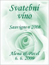 ...etiketa na víno...
